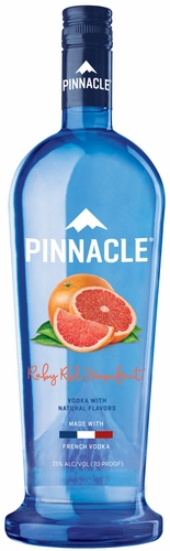 Pinnacle Ruby Red Grapefruit Flavored Vodka 1L