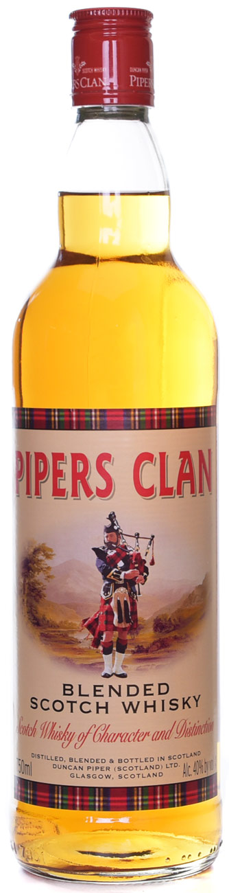 Pipers Clan Blended Scotch 750ML