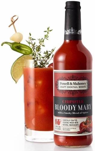 Powell & Mahoney Chipotle Bloody Mary Mix 750ML (case of 6)