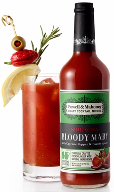 Powell & Mahoney Sriracha Bloody Mary Mix 750ML (case of 6)
