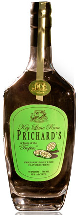 Prichards Key Lime Rum 750ML
