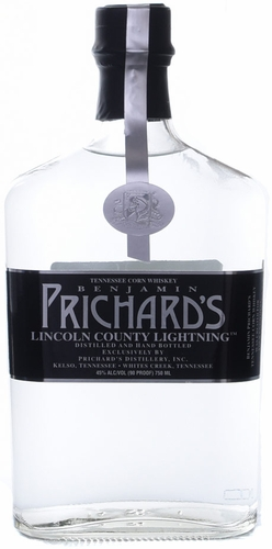 Prichards Lincoln County White Lightning Whiskey 750ML