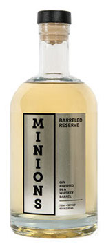 Proof Minions Barrel Reserve Gin Finished in a Whiskey Barrel