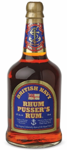 Pussers British Navy Rum 750ML