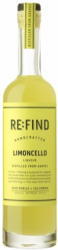 RE:FIND Handcrafted Limoncello Liqueur 375ML