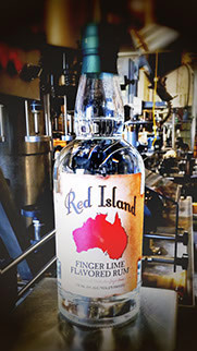 Red Island Finger Lime Flavored Rum