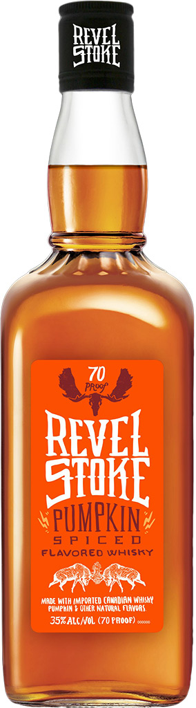 Revel Stoke Pumpkin Spiced Canadian Whisky 1L