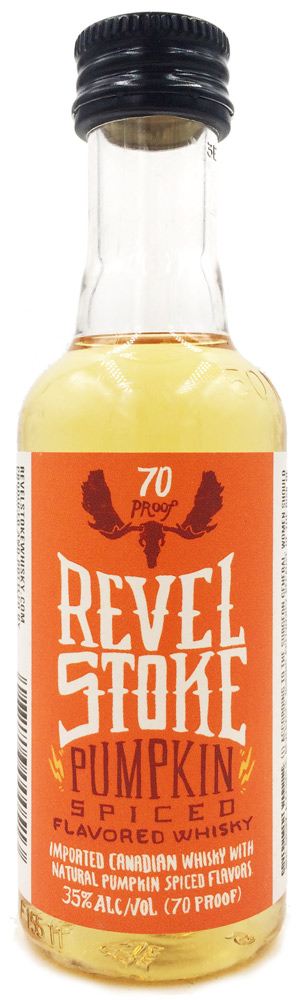 Revel Stoke Pumpkin Spice Flavored Canadian Whisky 50ML