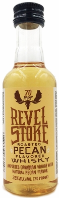 Revel Stoke Roasted Pecan Flavored Canadian Whisky 50ML