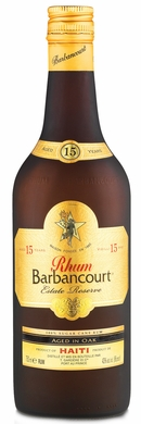 Rhum Barbancourt Estate Reserve 15 Year Rum 750ML