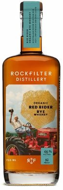 RockFilter Red Rider Organic Small Batch Rye Whiskey