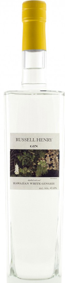 Russell Henry Hawaiian White Ginger Flavored Gin