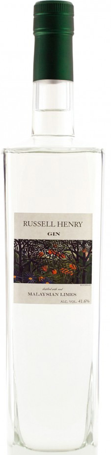 Russell Henry Malaysian Lime Flavored Gin 750ML