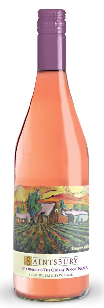 Saintsbury Vincent Vin Gris of Pinot Noir Rose 750ML 2016