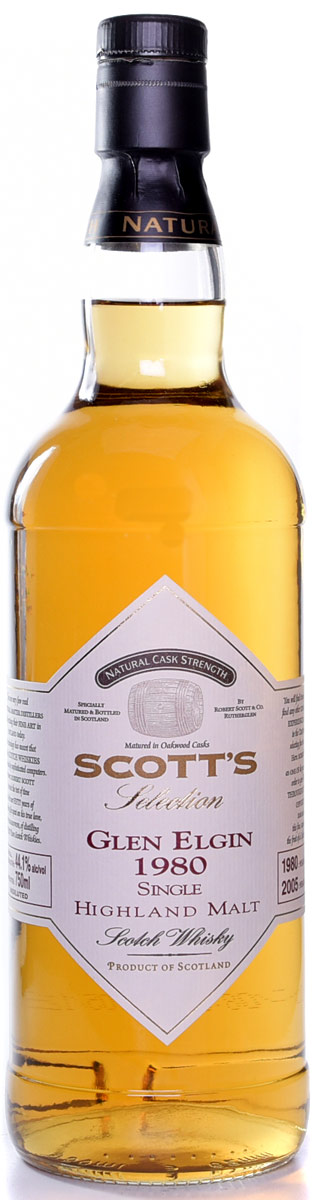 Scotts Selection Glen Elgin 1980 25 Year Old Single Malt Scotch