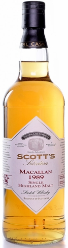 Scotts Selection Macallan 1989 18 Year Old Single Malt Scotch 750ML