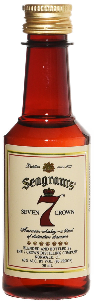 Seagram's 7 American Blended Whisky 50ML