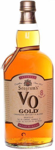 Seagram's VO Gold Canadian Whisky 750ML
