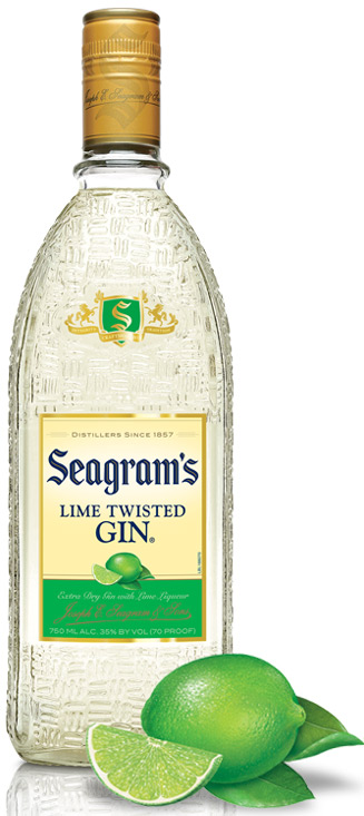 Seagram's Lime Twisted Gin 1.75L