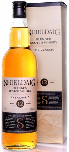 Shieldaig the Classic 12 Year Old Scotch 750ML