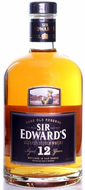 Sir Edwards 12 Year Old Blended Scotch 750ML