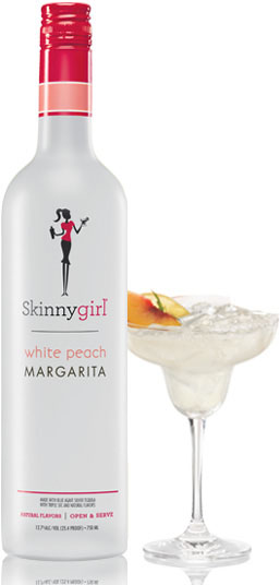 Skinnygirl White Peach Margarita Premixed Cocktail