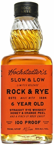 Slow & Low Rock & Rye 6 Year Old 100 Proof Whiskey 750ML