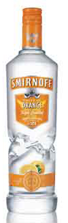 Smirnoff Orange Flavored Vodka 1L