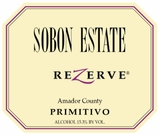 Sobon Estate Primitivo Rezerve 750ML (case of 12)