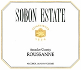 Sobon Estate Roussanne (case of 12)
