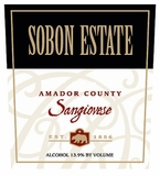 Sobon Estate Sangiovese (case of 12)