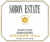 Sobon Estate Zinfandel Cougar Hill (case of 12)