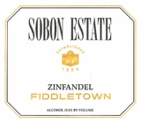 Sobon Estate Zinfandel Fiddletown (case of 12)