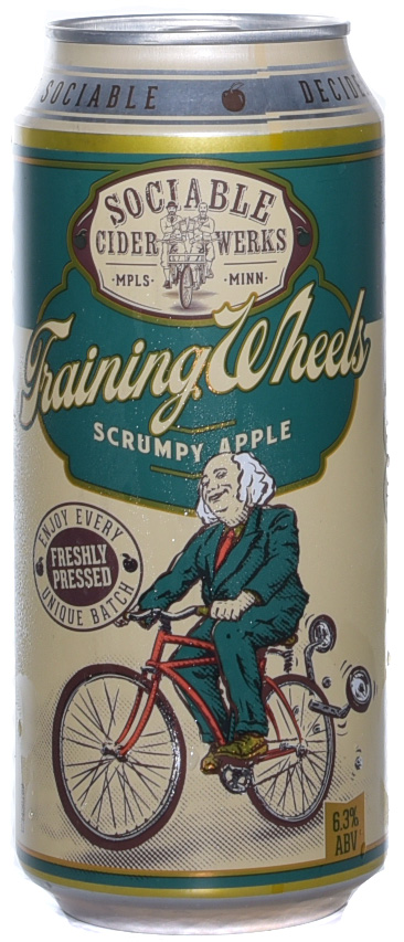Sociable Cider Training Wheels Scrumpy Apple Cider 4PK