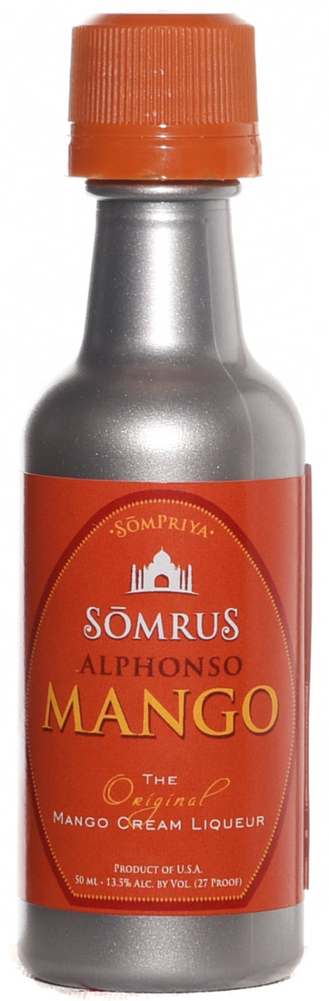 Somrus Alphonso Mango Indian Cream Liqueur 50ML