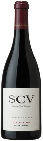 Sonoma Coast Vineyards Freestone Hills Pinot Noir 750ML 2014