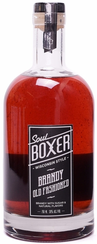 Soul Boxer Brandy Old Fashioned Cocktail