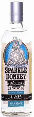 Sparkle Donkey Silver Tequila