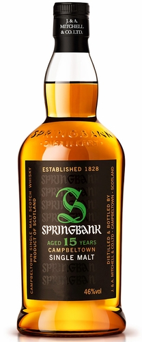 Springbank 15 Year Old Single Malt Scotch