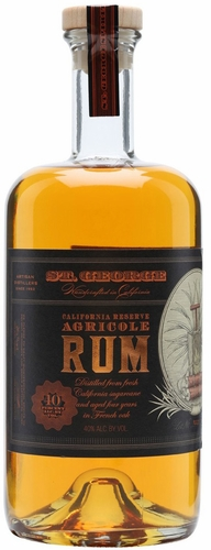 St. George California Reserve Agricole Aged Rum
