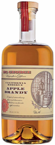 St. George California Reserve Apple Aged Brandy 750ML