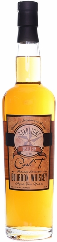 Starlight Distillery Carl T 2 Year Old Bourbon Whiskey
