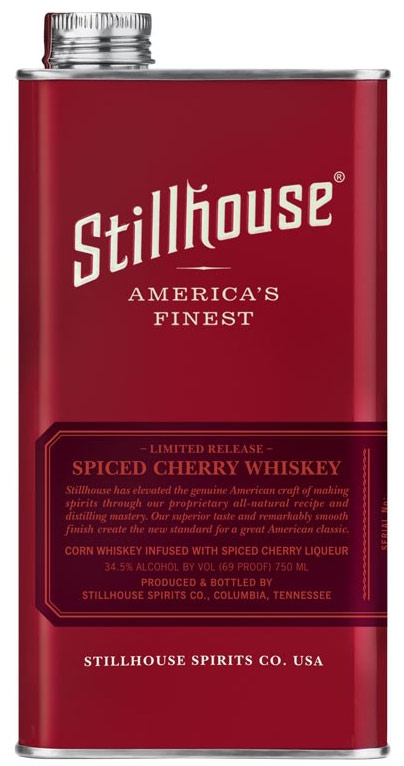 Stillhouse Spiced Cherry Flavored Whiskey 750ML