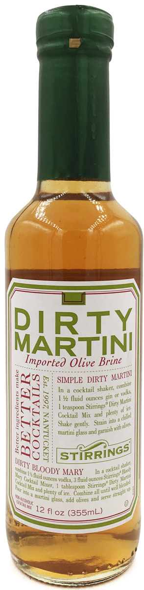 Stirrings Dirty Martini 12oz