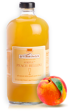 Stirrings Peach Bellini Mixer