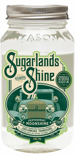Sugarlands Shine Peppermint Flavored Moonshine 750ML