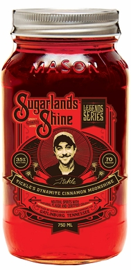 Sugarlands Shine Tickles Dynamite Cinnamon Flavored Moonshine 750ML