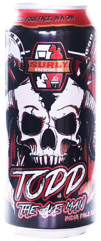 Surly Todd the Axeman West Coast Style IPA 4PK
