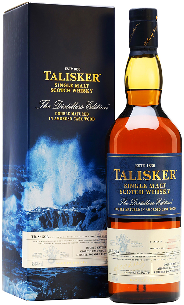 Talisker 12 Year Old Distillers Edition Single Malt Scotch