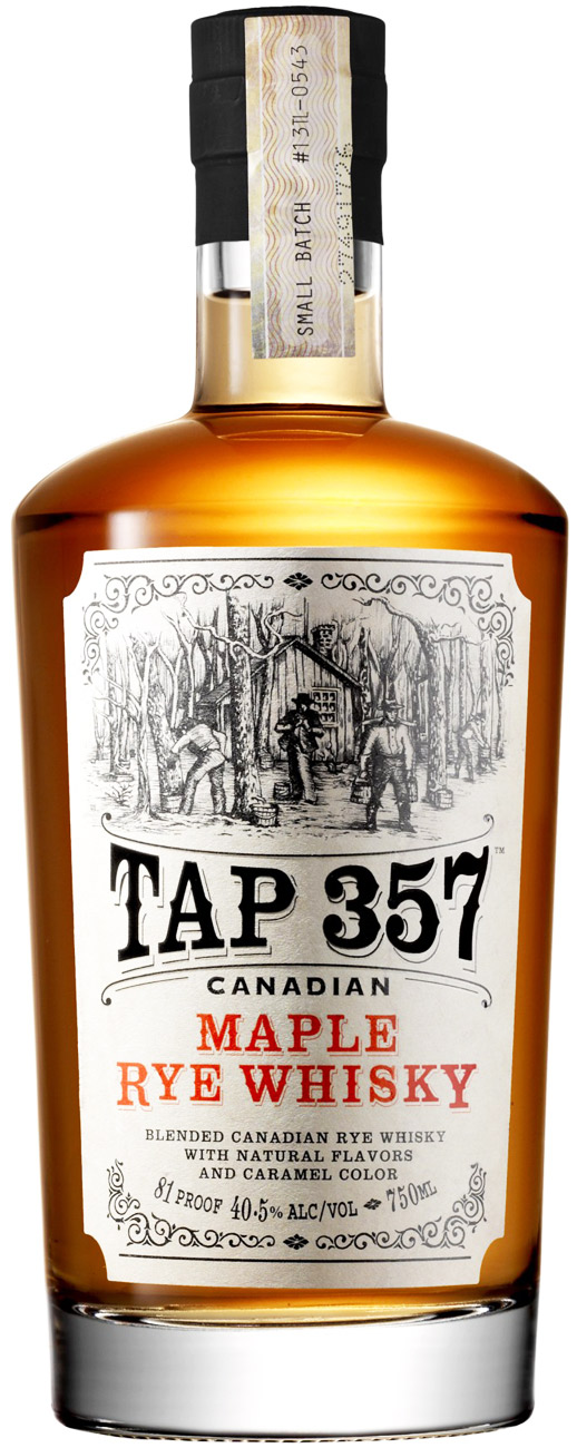Tap 357 Canadian Maple Flavored Rye Whiskey